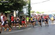 98 atletes participen en la 10Q La Cala marcada per la forta calor de diumenge