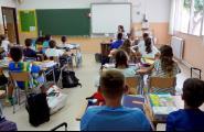 Els centres educatius de l'Ametlla de Mar arrenquen amb normalitat en el primer dia del curs