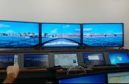 El simulador de navegació gran novetat de l'inici del curs a la Nauticopesquera