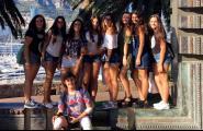 Els alumnes que han començat el Batxibac van realitzar una estada d'immersió lingüística a Niça