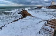 El fort temporal de llevant del cap de setmana deixa rastre a la costa de l'Ametlla de Mar