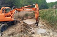 Comencen els treballs per restaurar la llacuna del Torrent del Pi