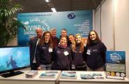 El submarinisme a la costa del golf de Sant Jordi es promociona a Holanda