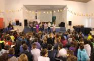 L'Escola Sant Jordi preparada per participar en el Certamen de Lectura en veu alta