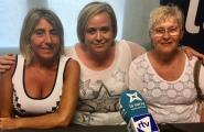 L'entrevista - Mª Carme Brull, Gemma Margalef i Palma Abàs, veïnes participants a les Catifes de Corpus