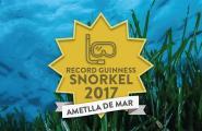 La Cala tornarà a intentar batre el Rècord Guinness de més gent fent snorkel alhora el 30 de juliol