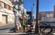 La xarxa elèctrica que envolta l'aparcament Escoles Velles se soterrarà