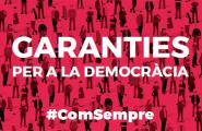 La Cala per la Independència presentarà les garanties pel referèndum de l'1-O