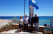 Les Banderes Blaves ja onejen a les cinc platges caleres guardonades