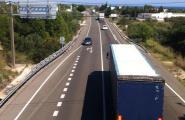 Els camions que circulen per l'N-340 es desviaran obligatòriament cap a l'AP-7 a partir de l'1 de gener de 2018