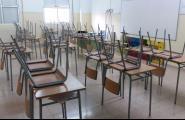 Seguiment massiu de la vaga d'estudiants pel referèndum als instituts caleros